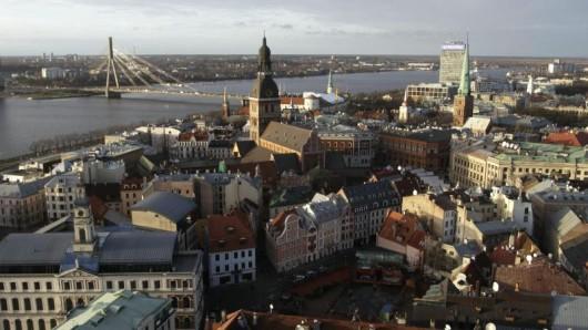Riga ist die Hauptstadt von Lettland.
