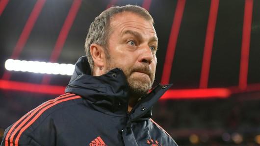 Hansi Flick, Interimstrainer des FC Bayern München, wird vor dem BVB-Spiel deutlich.