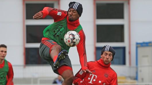 Die beiden Bayern-Streithähne: Jerome Boateng (l.) und Leon Goretzka.