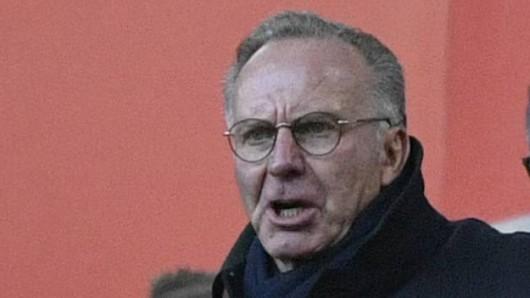 Karl-Heinz Rummenigge, Vorstandsboss des FC Bayern München, muss einen großen Plan beerdigen.