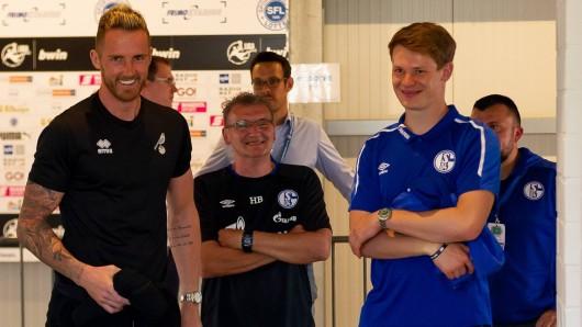 Alexander Nübel (re.) wird Schalke im Sommer verlassen. Ralf Fährmann kehrt dann aus Norwich zurück.