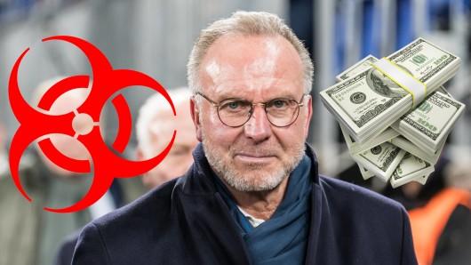 In der Coronavirus-Krise steht Karl-Heinz Rummenigge, Vorstandsboss des FC Bayern München, wegen einer unglücklichen Aussage in der Kritik.