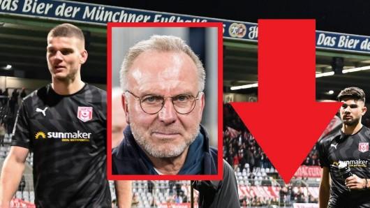 Fans des FC Bayern München erhielten wegen eines Spruchbands Stadionverbote.