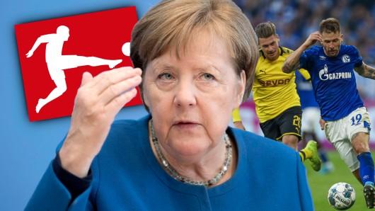 Die Bundesliga darf wieder starten – doch die Vorgaben der Politik sind knallhart.