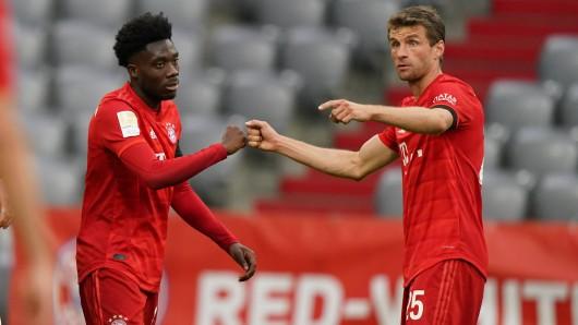 FC Bayern München: Dieser Auftritt ließ die Fans staunen.