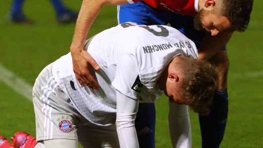 Ein wahrer Pechvogel des FC Bayern München musste am Samstag erneut verletzt vom Platz.