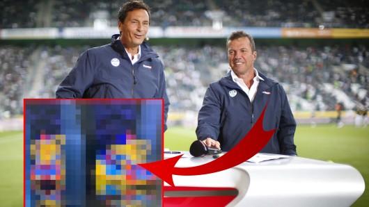 Sky: Bei der Bundesliga-Übertragung hatten die Zuschauer nur Augen für dieses Detail.