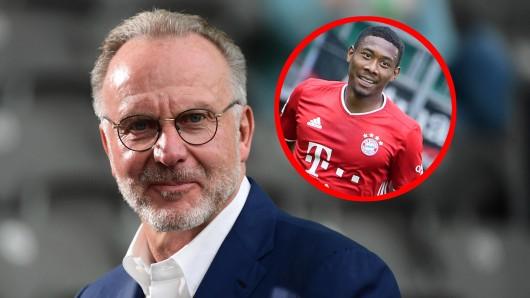 Beim FC Bayern München hat Karl-Heinz Rummenigge sich mit deutlichen Worten zur Personalie David Alaba geäußert.