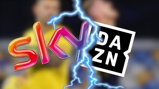 Sky und DAZN fechten derzeit einen weiteren Kampf um wichtige TV-Rechte aus. Dabei könnte die Vormachtstellung des Pay-TV-Riesen enden.