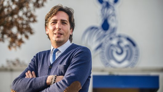 Sportdirektor Ivica Grlic vom MSV Duisburg.