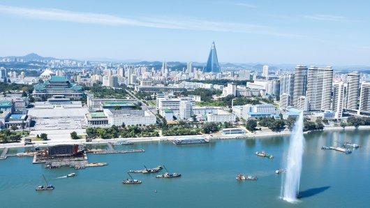 Auf einer Nordkorea-Reise spielen sich viele Programmpunkte in der Hauptstadt Pjöngjang ab - eigene Erkundungen dürfen Touristen dort aber nicht unternehmen.