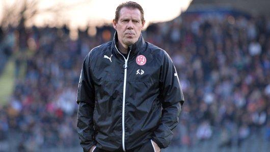RWE-Trainer Sven Demandt hat noch drei Planstellen zu vergeben.