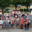 Vor den Kassenhäuschen bildeten sich in Oberhausen lange Warteschlagen.