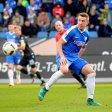 Russell Canouse im Spiel gegen den TSV München 1860, als er sein einziges Tor für den VfL Bochum erzielte zum wichtigen 1:0-Sieg.