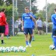 Robert Tesche nimmt am Training des VfL Bochum teil am Montag, 04. September 2017 in Bochum. Er ist einer der Neuzugänge des Profivereins. Foto: Dietmar Wäsche / FUNKE Foto Services