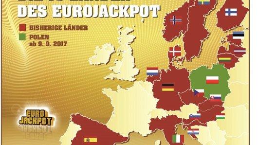 Polen ist das 18. Land, indem Eurojackpot gespielt wird.