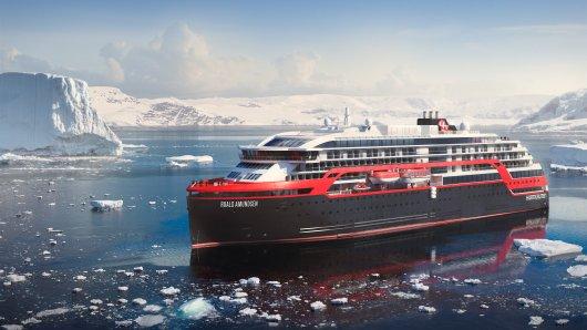 Die «Roald Amundsen»