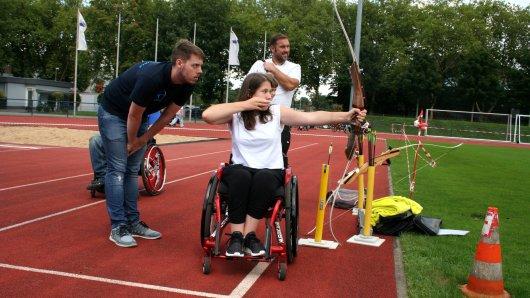 Die Besucher konnten beim Tag des Rollstuhlsports viele verschiedene Sportarten ausprobieren.