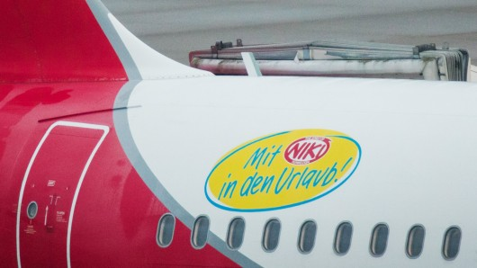 Alle Flugzeuge von Niki bleiben am Boden.