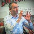Der neue Geschäftsführer von Rot- Weiss Essen Marcus Uhlig (Foto) im Gespräch mit Ralf Wilhelm, Marcus Schymiczek undRolf Hantel (alle WAZ). Das Gespräch fand am 25.1.2018 im Stadion Essen an der Hafenstraße 97A statt. Auf dem Foto: Michael Gohl / FUNKE Foto Services