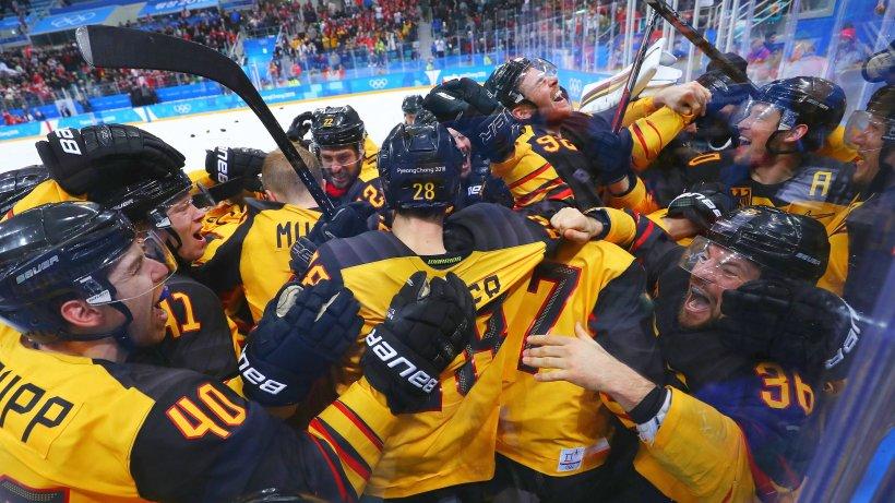 Deutsche Eishockey Nationalmannschaft Olympia 2021