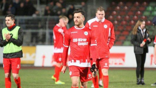 RWO - SV Rödinghausen  Tarik Kurt nach dem Spiel  20.03.2018 | Oberhausen  Foto: Micha Korb / FUNKE Foto Services