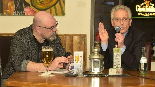 Talk-Box bei Oma Anne: Am Donnerstag war MSV-Präsident Ingo Wald zu Gast in Bissingheim.