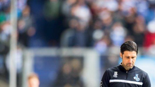 Schwere Zeiten: MSV-Trainer Ilia Gruev sucht den Weg aus der Krise.