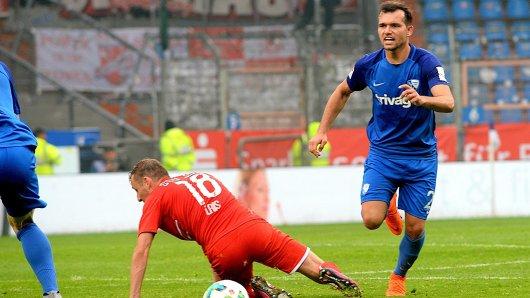 Verlässt den VfL Bochum Richtung Bundesliga: Kevin Stöger in seinem letzten Spiel für den VfL.