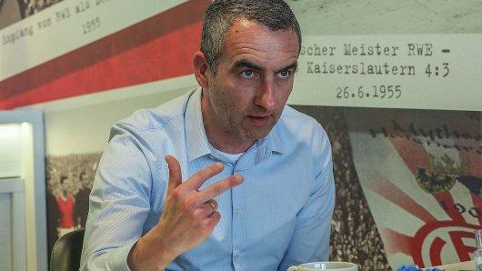 Der RWE-Vorsitzende Marcus Uhlig hofft auf den Titel und den damit verbundenen positiven Effekten.Foto: Gohl