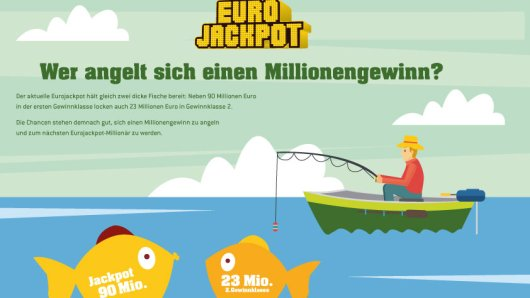 Selten war es so leicht Millionär zu werden. Neben dem 90 Millionen-Jackpot in der Gewinnklasse 1 wartet bei der nächsten Ziehung der Lotterie Eurojackpot am kommenden Freitag ein zusätzlicher Jackpot von 23 Millionen Euro im zweiten Gewinnrang.