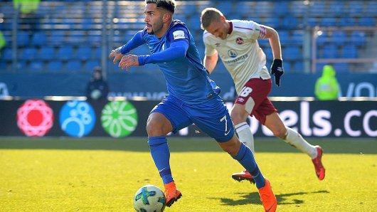 Steht in der Türkei offenbar hoch im Kurs: Selim Gündüz, hier mit dem VfL Bochum in der Partie gegen den 1. FC Nürnberg.
