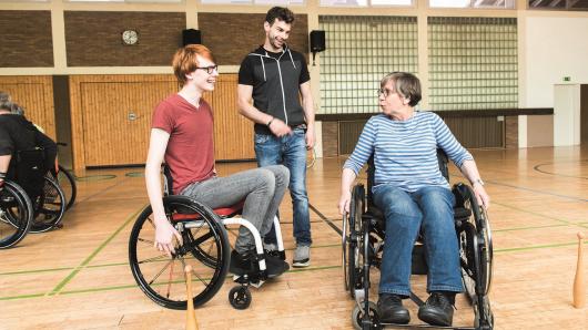 """Inklusion ist wichtig, gerade im Sport. Der TV Ratingen ist hier vorbildlich und wurde """"Behindertensportverein des Jahres""""."""