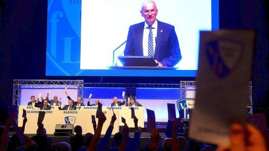 Die Jahreshauptversammlung des VfL Bochum findet am 18.09.2018 in der Kongrshalle in Bochum statt. Villis Foto: Udo Kreikenbohm/FUNKE Foto Services
