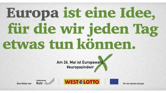 Geografisch betrachtet liegt Nordrhein-Westfalen ziemlich zentral in Europa. Daraus folgt, dass wir alle einen – in welcher Weise auch immer – Bezug zu Europa haben. Europa braucht deine Stimme!