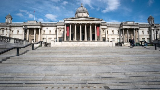 Die National Portrait Gallery in London wird das erste der großen Museen des Landes sein, das im Rahmen der Corona-Pandemie wiederöffnet. Besuche müssen jedoch im voraus gebucht werden.