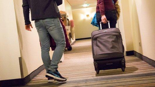 Endlich Ruhe: Wenn der Flieger spät abends mit viel Verspätung landet, bleibt manchmal keine andere Möglichkeit, als ins nächste Hotel zu gehen.