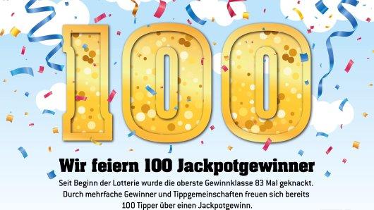 Ein Eurojackpot-Tipper aus dem Ortenaukreis räumte bei der Ziehung am vergangenen Freitag (12. März) über 63,6 Millionen Euro ab. Damit ist er der 100. Jackpotgewinner der europäischen Lotterie.
