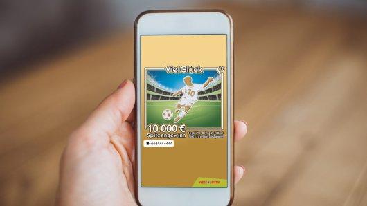 Ballgeschick ist für das neue Fußball-Los nicht erforderlich, nur Rubbelglück.