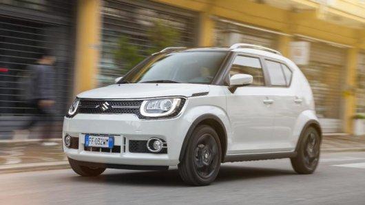 Mini-Suv: Der Suzuki Ignis ist ein besonders kleiner Geländewagen - er misst nur 3,70 Meter.
