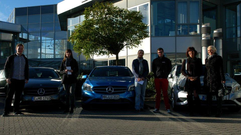 Mercedes A-Klasse - Mit der Sonne um die Wette strahlen - Auto ...
