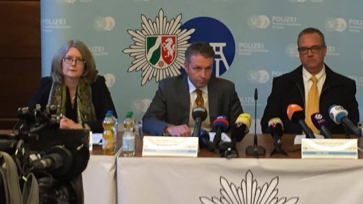 Im Bild: (v.l.) Kerstin Wittmeier, Roland Bachmann , Roland Wefelscheidt, und Frank Lemanis bei der Pressekonferenz.