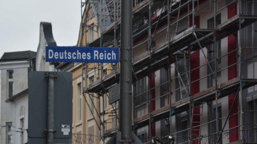 Das Deutsche Reich gibt es also noch. In Bochum-Werne.