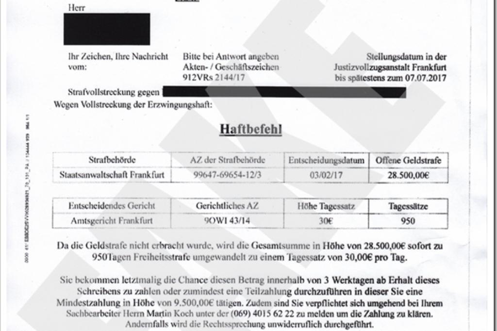 Fake Haftbefehle Kursieren In Ruhrgebietsstädten Bochum Derwestende
