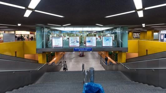 Die Bogestra bietet Obdachlosen die Möglichkeit in den U-Bahnhöfen am Bochumer, Herner und Gelsenkirchener Hauptbahnhof zu nächtigen.