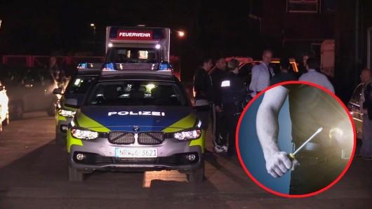 Mit einem Schraubenzieher wurde ein Bochumer schwer verletzt.