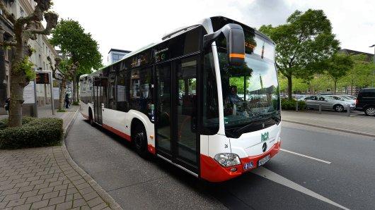 Ein Bus der Herner Verkehrsgesellschaft HCR.