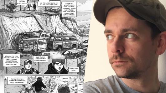 Timo Grubing aus Bochum zeichnet Horror-Comics.