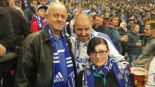 Rudolf Hillmann (links) erlitt am 11. Januar einen Herzinfarkt in der Herner Innenstadt. Nun sucht seine Familie nach seinem Lebensretter.
