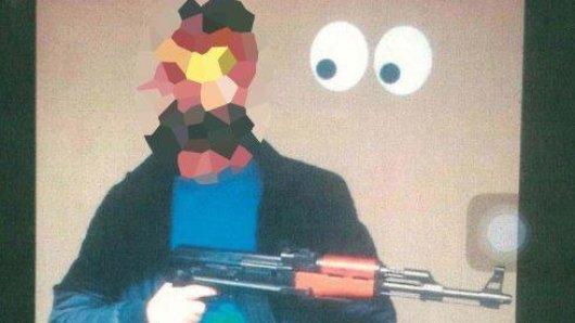 Mit Waffen im Internet posieren und ein Hinrichtungsvideo verschicken? Absolut keine gute Idee.